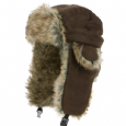 TRAPPER FUR LINED HAT